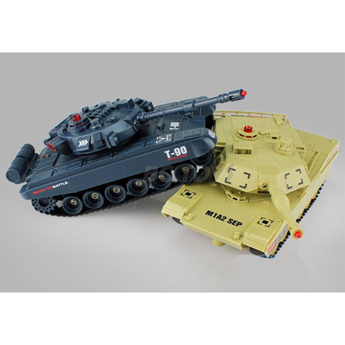 Радиоуправляемый танковый бой 1:48  Abrams M1A2 vs. Т-90 - Картинка