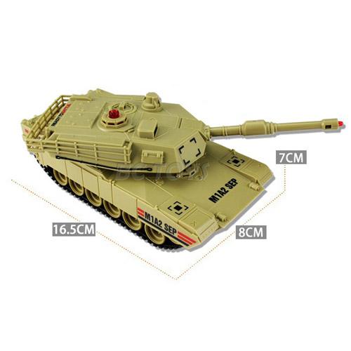 Радиоуправляемый танковый бой 1:48  Abrams M1A2 vs. Т-90 - Фотография