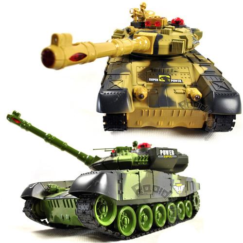 Танковый бой 1:24  War Tank (2 танка 27 см)