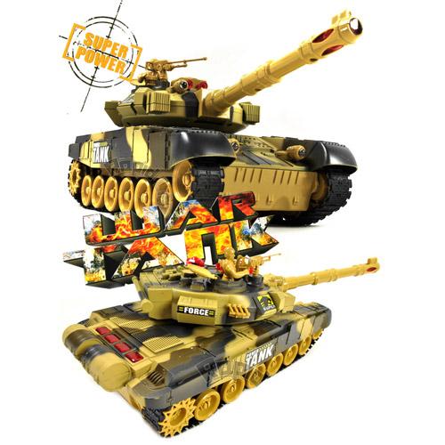 Танковый бой 1:24  War Tank (2 танка 27 см) - В интернет-магазине