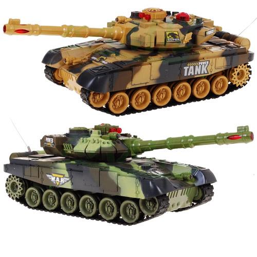 Танковый бой 1:24  War Tank (2 танка 27 см) - Картинка
