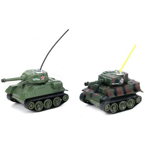 Радиоуправляемый Микро танковый бой 1:72 (2 танка по 6 см)