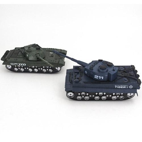 Радиоуправляемый Танковый бой 1:32 Tiger I и Type 99 (2 танка, 28 см) - В интернет-магазине
