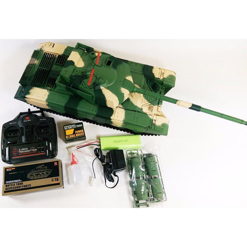 Радиоуправляемый Танк ZTZ-99 (пневмопушка, 1:16, 53 см.) - Картинка