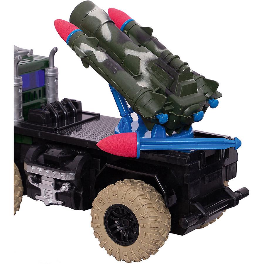 Радиоуправляемый Грузовик с ракетной установкой (2.4GHz, 20 см.)