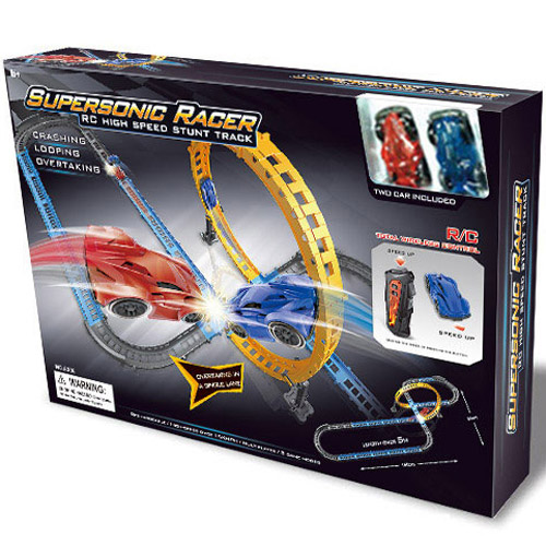 Радиоуправляемый Автотрек Supersonic Racer (50 см.) - В интернет-магазине