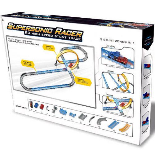 Радиоуправляемый Автотрек Supersonic Racer (50 см.) - Фото