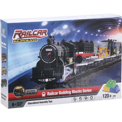 Конструктор Железная дорога (120-350 деталей, 388 см) - Картинка