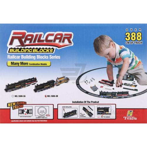 Конструктор Железная дорога (120-350 деталей, 388 см) - Изображение