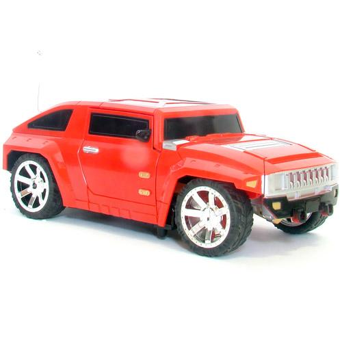 Радиоуправляемый Джип-трансформер 1:24 Hummer (8 функций, 24 см)