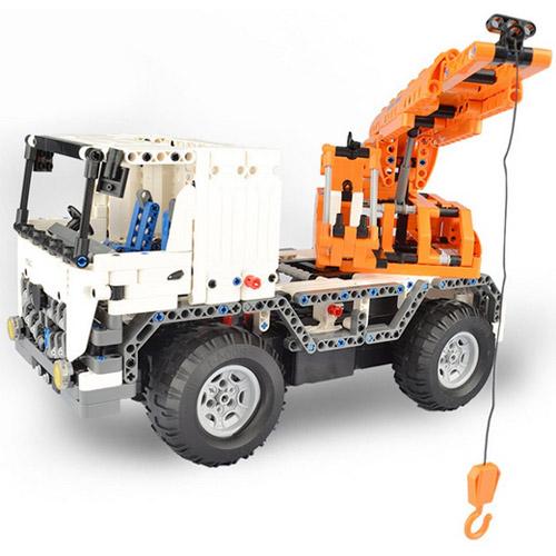 Радиоуправляемый конструктор Автокран (838 деталь, 37 см.)