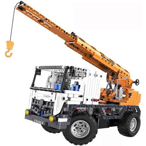 Радиоуправляемый конструктор Автокран (838 деталь, 37 см.) - Изображение