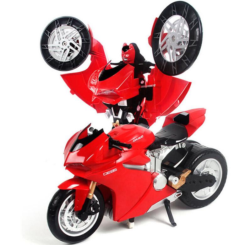 Радиоуправляемый Трансформер-мотоцикл Duccati (46 см) - Фотография