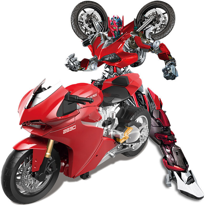 Радиоуправляемый Трансформер-мотоцикл Duccati (46 см)