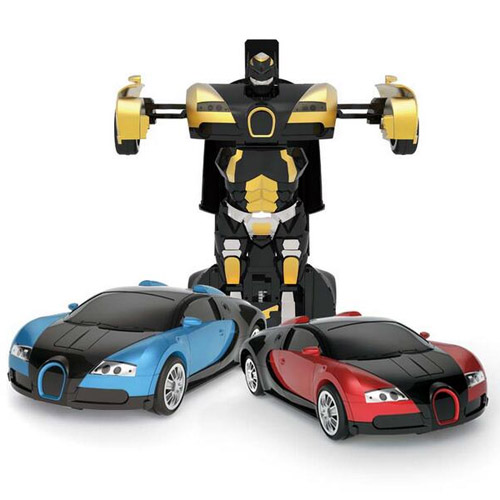 Радиоуправляемый трансформер Bugatti (супер надежность, реагирует на жесты) - В интернет-магазине
