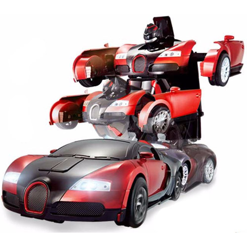 Радиоуправляемый трансформер Bugatti (супер надежность, реагирует на жесты) - Фотография