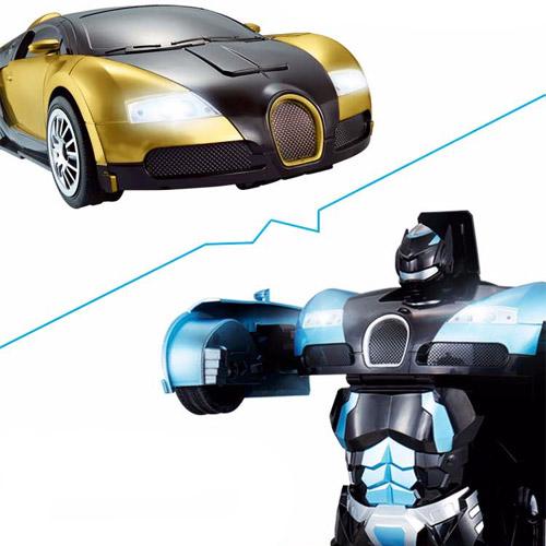 Радиоуправляемый трансформер Bugatti (супер надежность, реагирует на жесты) - Картинка
