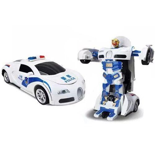Радиоуправляемый трансформер Bugatti Полиция (29 см.)