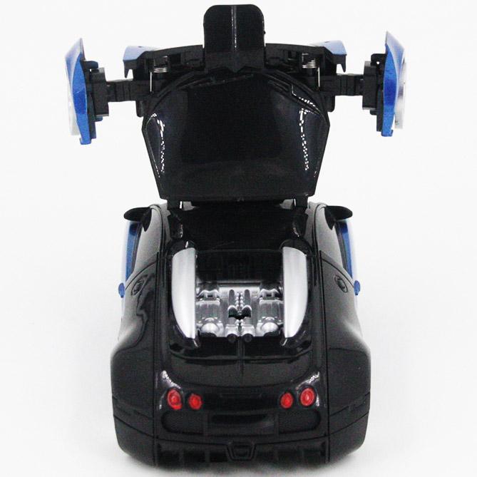 Радиоуправляемый стенолаз-трансформер Bugatti (16 см) - Картинка