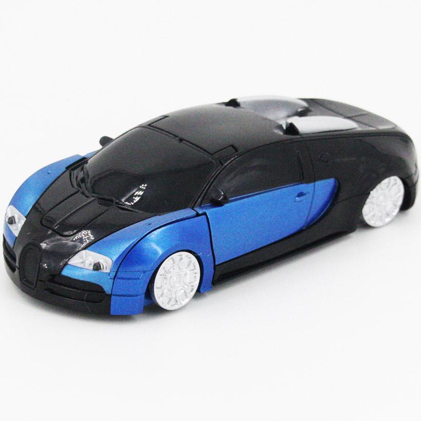 Радиоуправляемый стенолаз-трансформер Bugatti (16 см) - Изображение