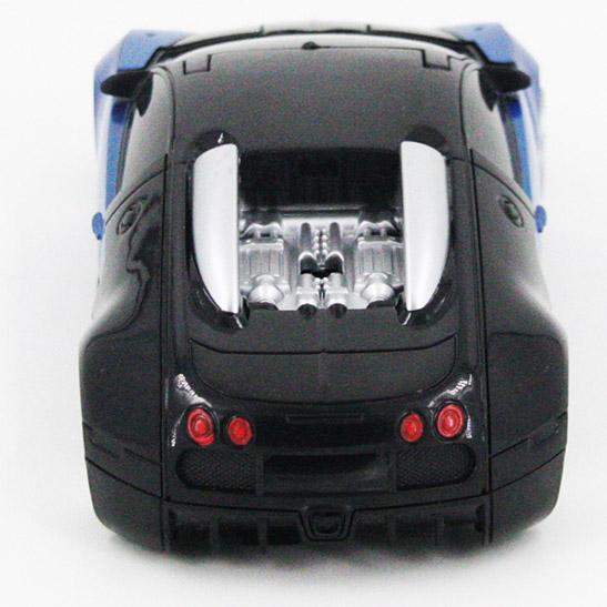 Радиоуправляемый стенолаз-трансформер Bugatti (16 см) - Фото