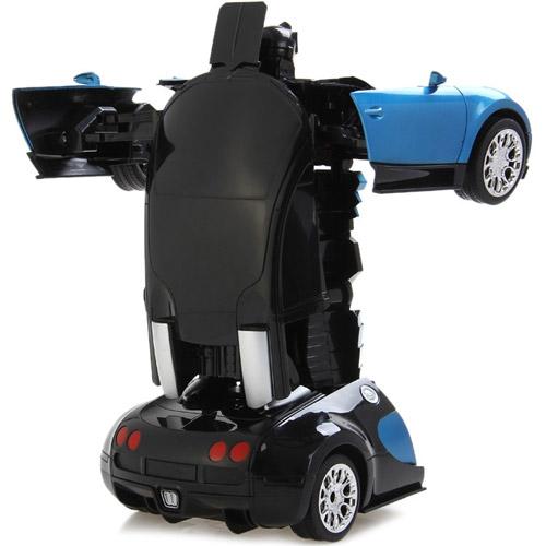 Радиоуправляемый Спорткар-трансформер Bugatti Veyron (25 см) - Фотография