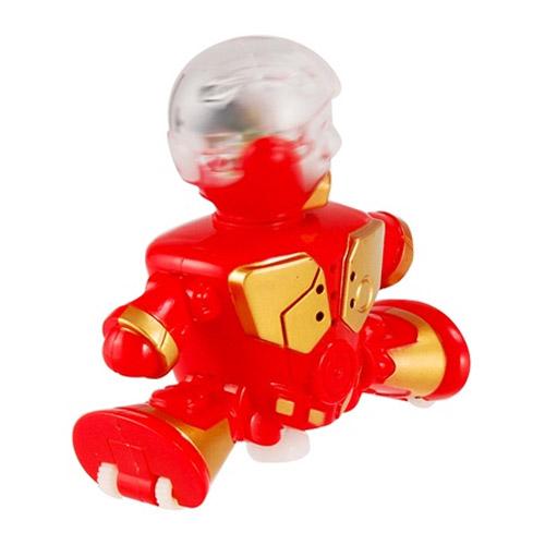 Красный Интерактивный робот-танцор (10 см.)