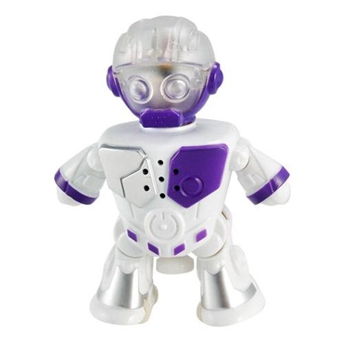 Белый Интерактивный робот-танцор (10 см.)