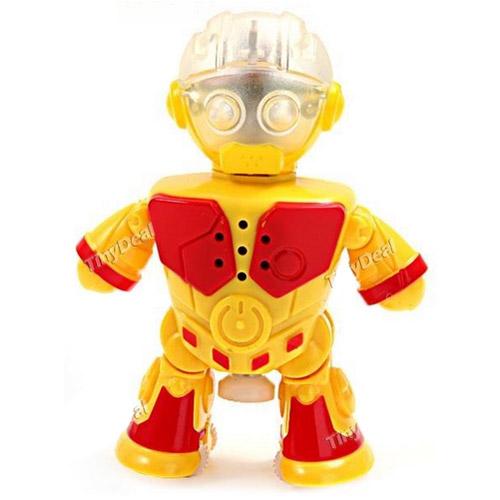 Желтый Интерактивный робот-танцор (10 см.)