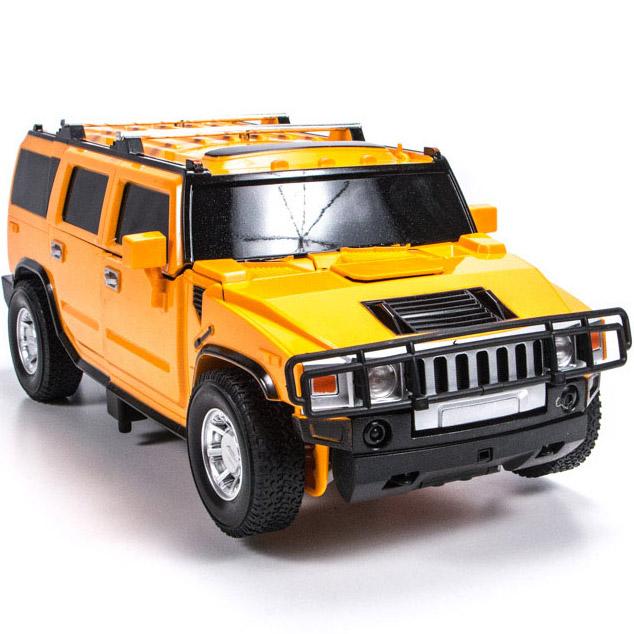 Радиоуправляемый трансформер Hummer H2 (1:14, 35 см)