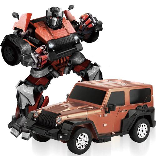 Радиоуправляемый Трансформер Jeep (27 см, 2.4 GHz)