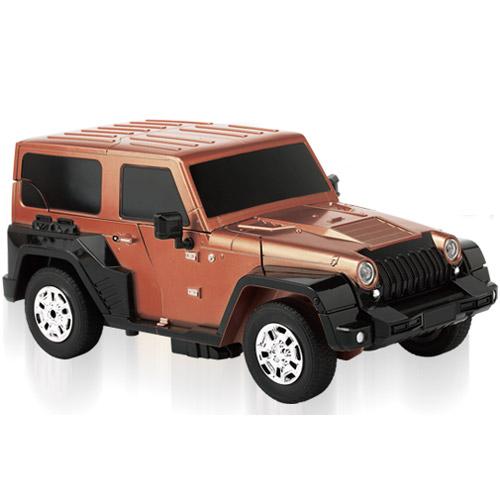 Радиоуправляемый Трансформер Jeep (27 см, 2.4 GHz) - Картинка