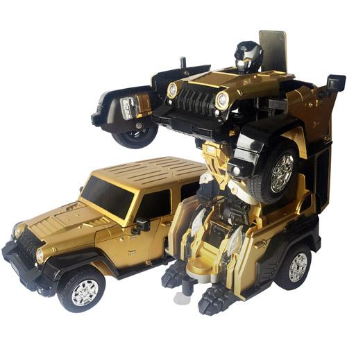 Радиоуправляемый Трансформер Jeep (27 см, 2.4 GHz) - Изображение