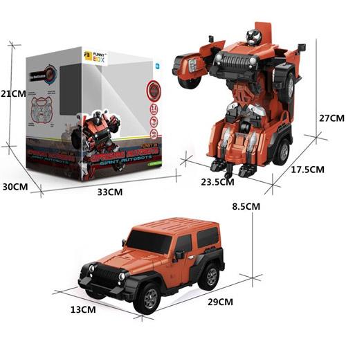 Радиоуправляемый Трансформер Jeep (27 см, 2.4 GHz) - Фото
