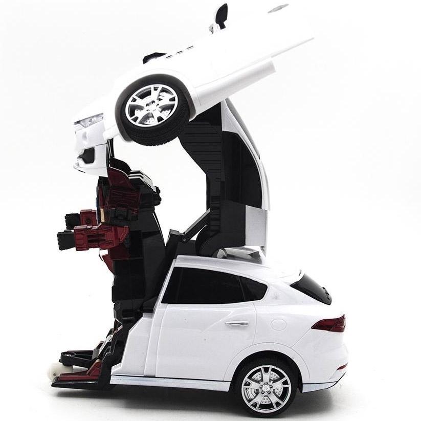 Радиоуправляемый Трансформер Maserati Levante (37 см) - В интернет-магазине