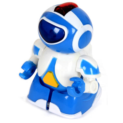 Синий Радиоуправляемый микро-робот Миниботик (8 см.)