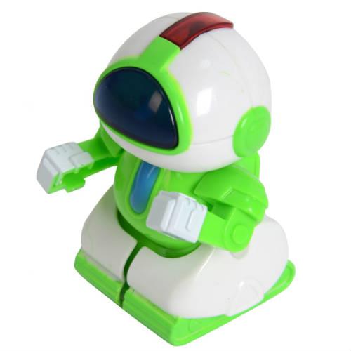Зеленый Радиоуправляемый микро-робот Миниботик (8 см.)