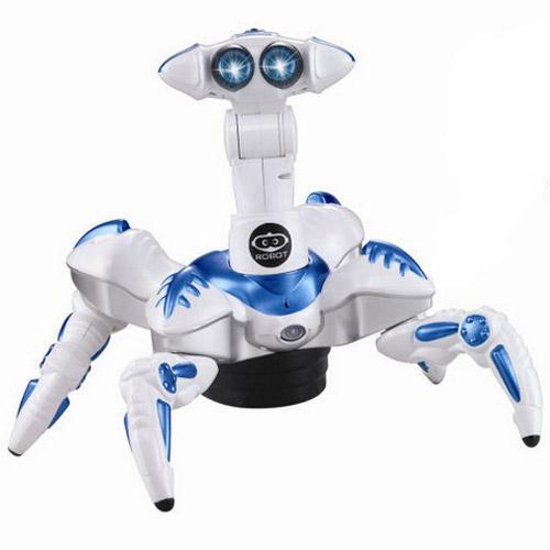 Продвинутый робот-монстр (28 функций, реагирует на звук, свет, движение, 35 см.) - Картинка