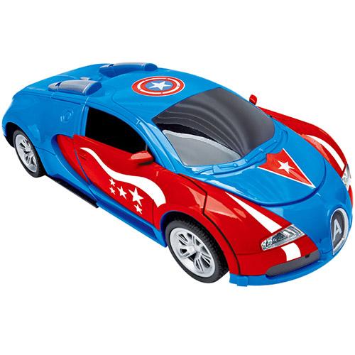 Радиоуправляемый трансформер Bugatti Капитана Америка (29 см.) - В интернет-магазине