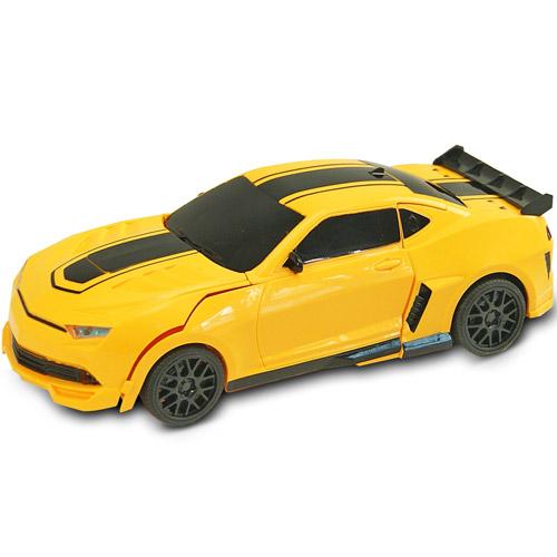 Радиоуправляемая машинка-трансформер 1:20 Chevrolet Camaro Bumblebee с мечом - В интернет-магазине