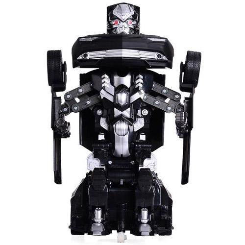 Радиоуправляемая Машина-трансформер Черная Камаро (25 см)
