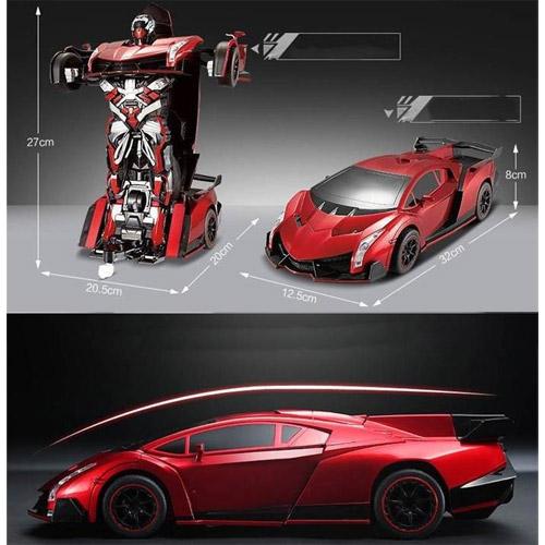 Радиоуправляемый Спорткар-трансформер Lamborghini (25 см) - Фотография