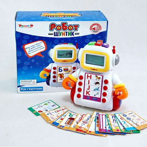 Обучающий робот Умный Я (60 карточек) - Фотография