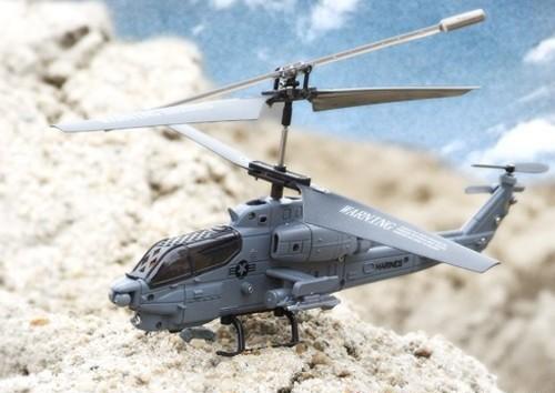 Военный Вертолет Syma S108 AH-1 Super Cobra на радиоуправление (19 см) - Картинка