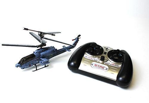 Военный Вертолет Syma S108 AH-1 Super Cobra на радиоуправление (19 см) - Фото