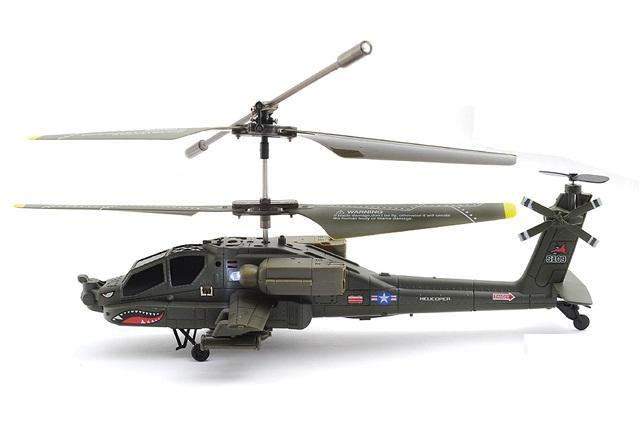 Радиоуправляемый Вертолет Syma S109 Apache AH-64 (22 см) - В интернет-магазине