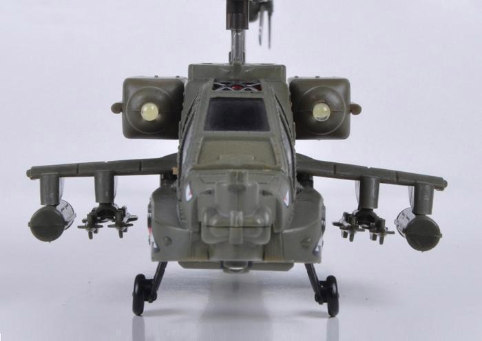 Радиоуправляемый Вертолет Syma S109 Apache AH-64 (22 см) - Фотография