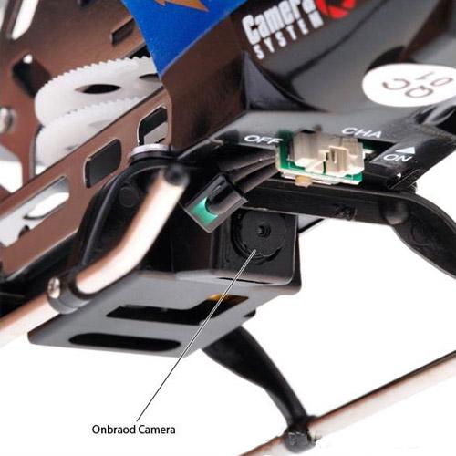 Вертолет на пульте управления с камерой C7 и картой памяти на 1Gb - Фото