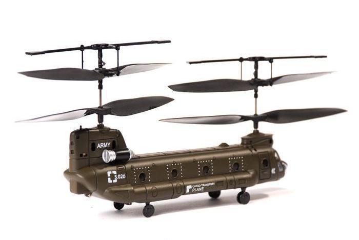 Радиоуправляемый Вертолет Syma S026 Chinook CH-47 (19 см)