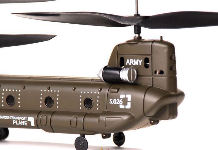 Радиоуправляемый Вертолет Syma S026 Chinook CH-47 (19 см) - Фотография